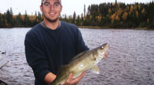 walleye fishing at your doorstep